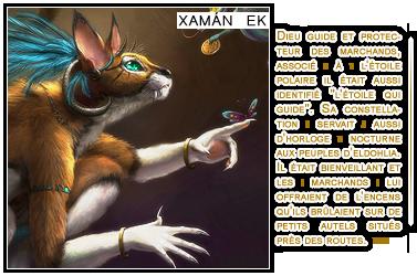 {& Cosmologie des Dieux Xaman